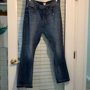 Jcrew Stretch Bootcut Jeans